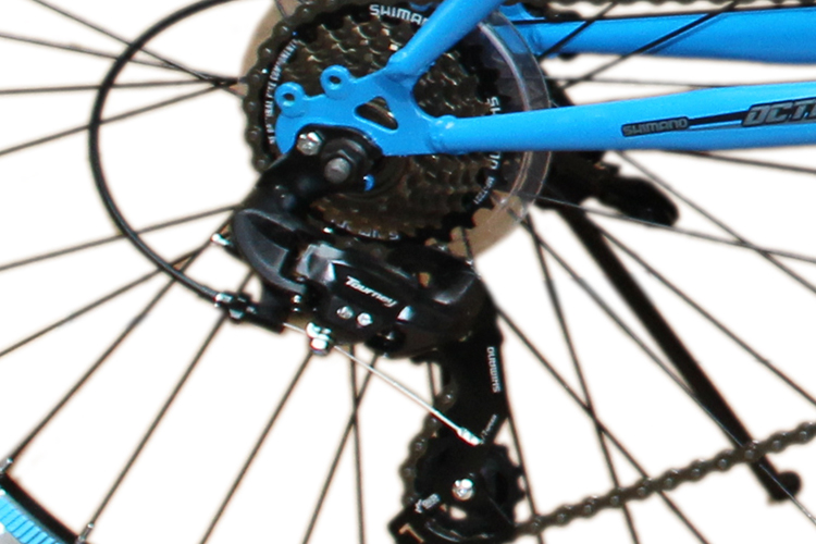 26 zoll mountainbike shimano 21gang 26 fahrrad schwarz. Black Bedroom Furniture Sets. Home Design Ideas